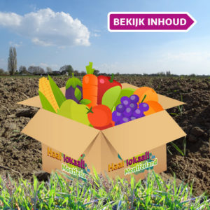 Haal lokaal in Montferland pakket groente en fruit